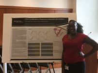 Zi presenting at 2017 PCa Summer Research Symposium