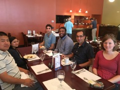 Visit to Virginia Tech to see Agah Lab Cousins
