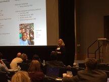 Dr. Kerr presenting at CSC 2016