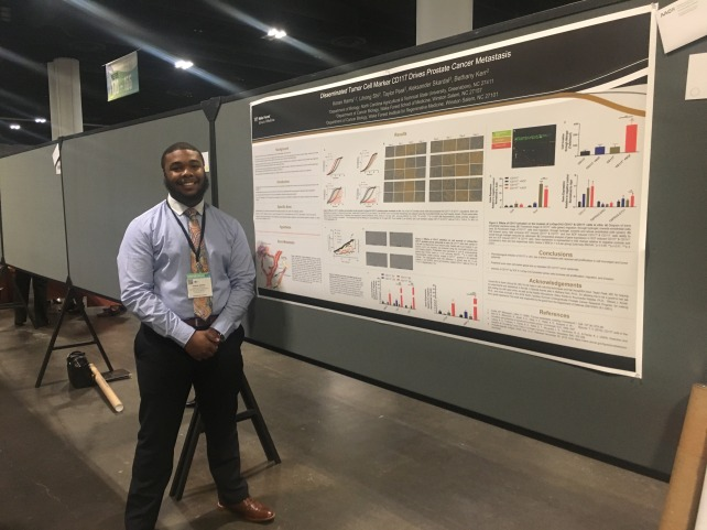 Koran's poster at ABRCMS 2016
