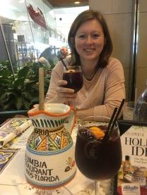 Brittni celebrating a successful SBUR