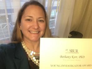 SBUR Young Investigator Award 2019
